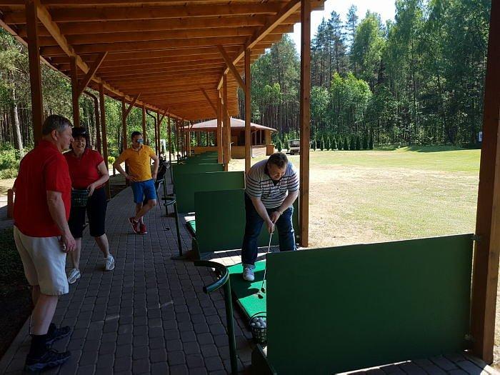 Соревнование по гольфу