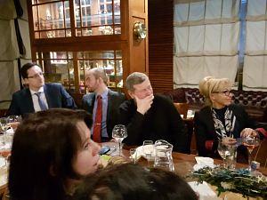 Венгерский вечер 4 февраля 2016 в Дипломатическом экономическом клубе