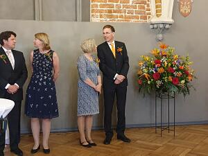 Reception of the Embassy of the Netherlands
