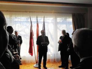 День короля в Нидерландах,  прием по случаю национального праздника. Посол Нидерландов Питер Лангенберг