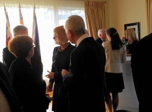 Посол Польши Ева Дембска, Посол Швейцарии Маркус Дутли