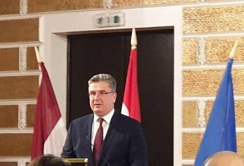 Посол  Венгрии в Латвии Ференц Баняй