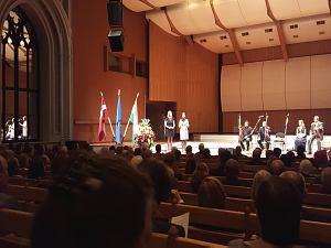 Прием Посольства Венгрии в Латвии, октябрь 2015. Посол Венгрии в Латвии госпожа Адриен Мюллер