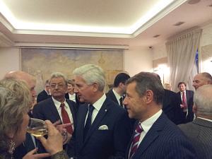 Посол Чехии Павол Шепеляк, Посол Швейцарии Маркус Дутли, Посол Франции Стефан Висконти