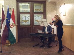 Прием Посольства Венгрии 22 октября 2014 года в Риге
