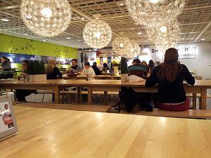 Кафе в IKEA