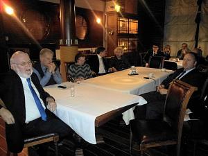 Встреча в Дипломатическом Клуба 7 ноября 2013. Посол Ирландии Эйдан Кирван