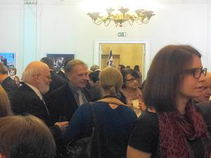 Прием Посольства Израиля, Советник Посольства Бельгии Андре Виллерс