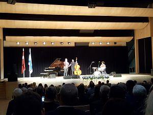 Прием Посольства Израиля в Латвии. Концерт Omer Klein trio