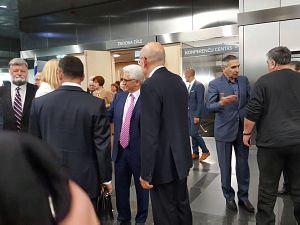 Прием Посольства Израиля в Латвии. Аркадий Сухаренко, Алексей Милов