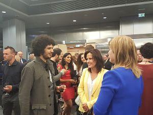 Прием Посольства Израиля в Латвии. Omer Klein trio - пианист Омер Кляйн, ударные Амир Бреслер