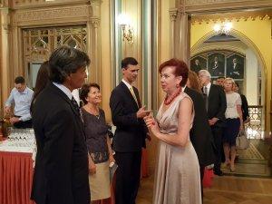 Прием Посольства Италии в Латвии. Посол Себастьяно Фулчи