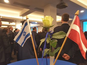Evening at the embassy of the State of Israel in the Republic of Latvia in 2018