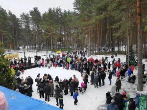 Народные гулянья в Юрмале - Масленица