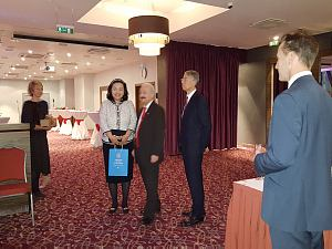 Reception of the Ambassador of Japan to Latvia, October 2015.