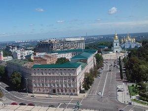 Киев вид с Софийского собора