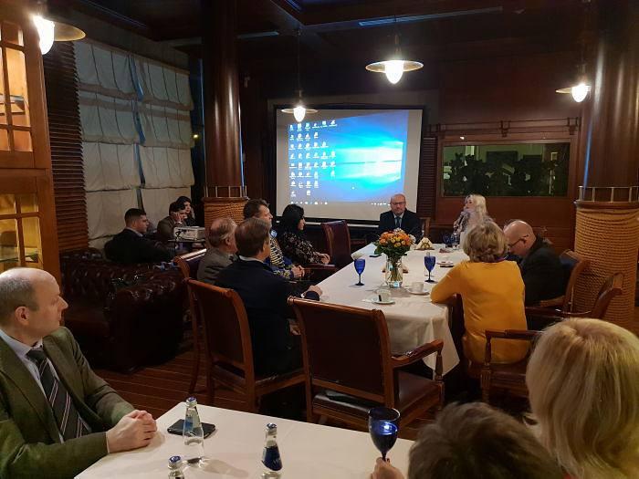 Вечер туризма в Дипломатическом клубе в Риге
