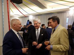 Юрис Савицскис, Посол Швейцарии Маркус Дутли, Посол Испании Педро Начер