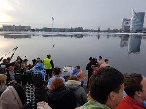 Праздник Крщения на реке Даугава