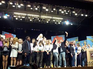 Фестиваль молодежного КВН в Риге 3 ноября 2014