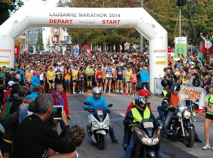22-й марафон в Лозанне