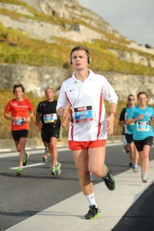 Виталий Бутенко 8-й раз принимает участие в Лозаннском марафоне