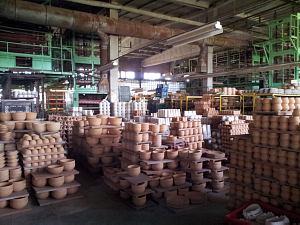 Цеха фабрики Latvijas Keramika