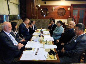 Встреча в Дипломатическом клубе 11 декабря 2014