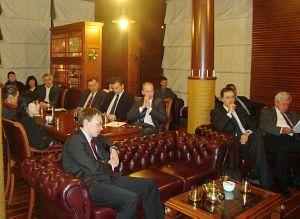 Встреча в Дипломатическом Клубе