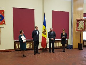 On 27 April, the Ambassador of Moldova in Latvia opened the exhibition