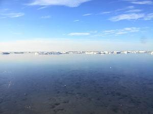 Рижский залив в марте 2013