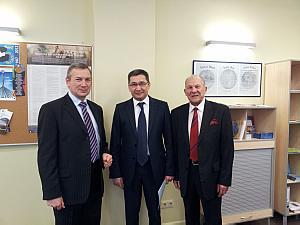 Президент Латвийской Академии наук Оярс Спаритис, Посол Узбекистана Афзал Артыков