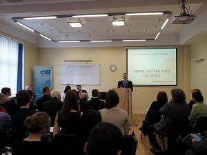 Президент Латвийской Академии наук Оярс Спаритис