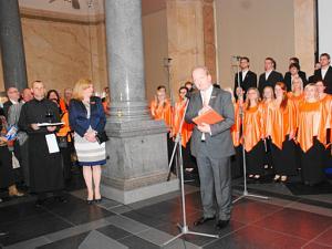 Прием Посолства Королевства Нидерланды в Латвии 30 апреля 2013