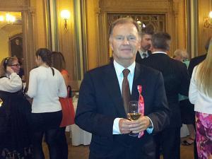Прием Посольства Норвегии в Латвии, Посол Ян Гревстад