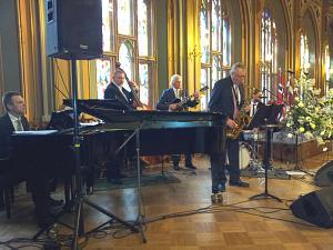 Прием Посольства Норвегии в Латвии. Джазовый коллектив музыкантов из Норвегии и Латвии