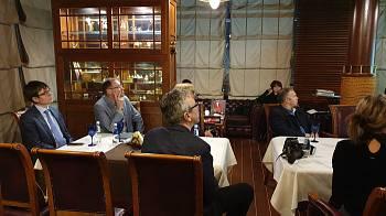 Наталия Варади в Дипломатическом экономическом клубе, 28 ноября 2019