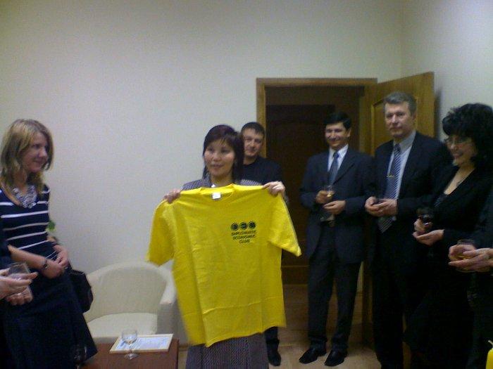 2008 год, желтая майка клуба - Ставрополье!