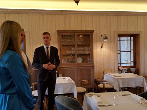 Встреча в ресторане Philippe в Юрмале