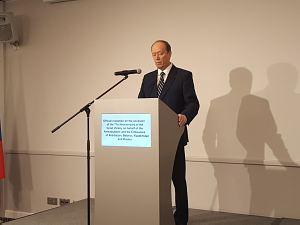 Рига. Прием по случаю 71-й годовщины   Победы над фашизмом