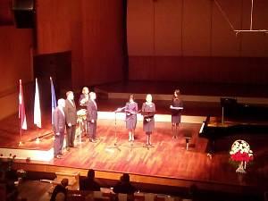 Прием Посольства Польши в Латвии. Посол Республики Польши Эва Дембска