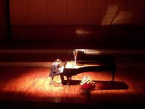 Прием Посольства Польши в Латвии, за роялем пианист Георгий Осокин
