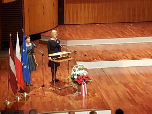 Прием Посольства Польши в Латвии. Посол Эва Дембска