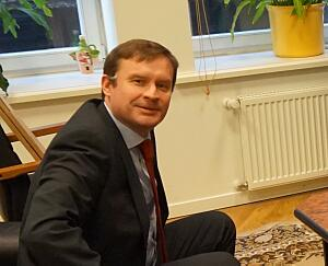 Посол Словакии в Латвии Петер Хатяр