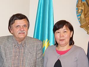 Советник Посольства Казахстана в Латвии Жазира Мырзакассимова