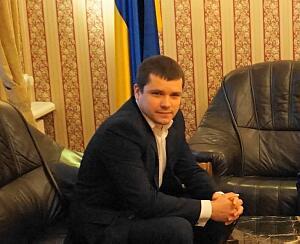 Временный поверенный в делах Украины в Латвии Андрей Козлов