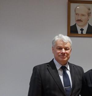 Советник Посольства Беларуси Владимир Козловский