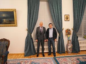 Посол Украины в Литве Валерий Жовтенко