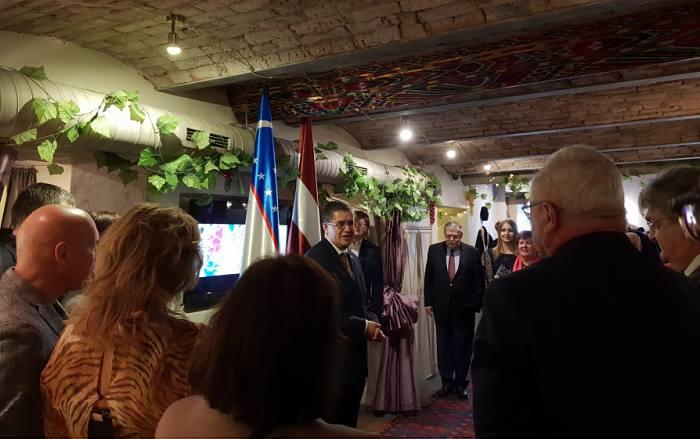 Посол Бадриддин Абидов завершает миссию в Латвии