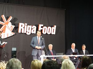 The Riga Food 20th anniversary exhibition